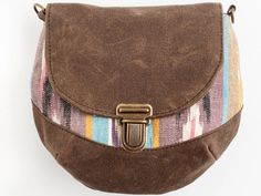 Pansy Maiden's canteen pouch doubles as both a clutch and hip bag