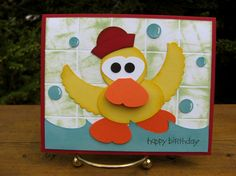 Stampin' Up!  Butterfly Punch  Brenda Ruse  Rubber Duckie