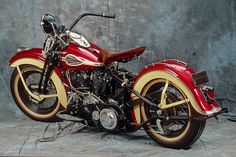 Great colors on a HD Knucklehead