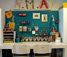 I love this craft area