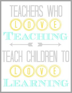 Teacher Appreciation Quote {Printable}