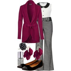 """""""Teacher Outfits on a Teacher's Budget 84"""" by allij28 on Polyvore"""