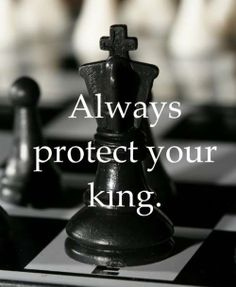 Life is like a game of chess, is it not?