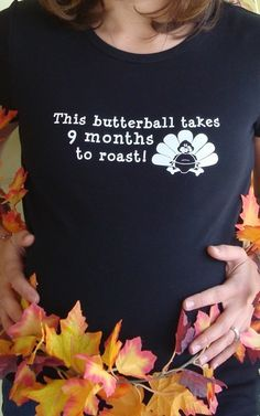 Thanksgiving Turkey Fall Maternity shirt by BabytalkDesigns, $23.99