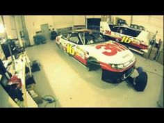 Time Lapse of Greg Biffle's 3M NASCAR Car Being Wrapped