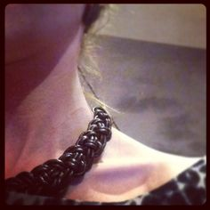 Collar de nudos celtas