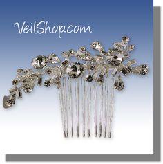 $92.00 Comb style bridal headpiece