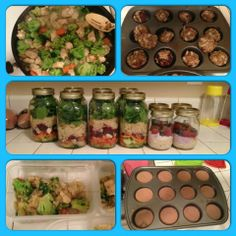 Britt Gets Fit & Fab. make ahead meals meal planning healthy - also a great journal to read