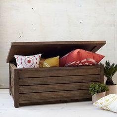 Jardine Trunk Bench #WestElm