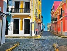 San Juan, Puerto Rico - love the vibrant colors!!!
