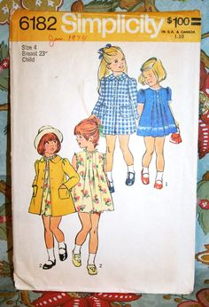 Mom made all of our clothes and we thought they were so cool. We even picked out the pattern and material.