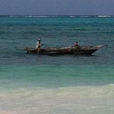 Fishermans on their way back home - zanzibar
