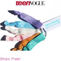 Twistband Hair Ties $10.00. Enter to win a Teen Vogue Birchbox! http://birch.ly/GRSGKL