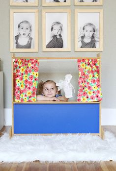 Easy and inexpensive DIY photo frames are a fun way to cheer up a space!