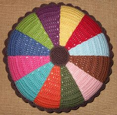 finished pillow by solgrim, via Flickr