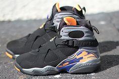 """Releasing: Air Jordan 8 Retro """"Phoenix Suns"""""""