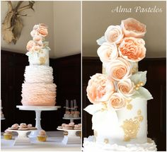 Ruffles & Bloom - Cake by Alma Pasteles