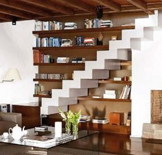 Space Under the Stairs - DIY Ideas to Increase the Area of the Room