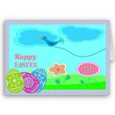 #cards #easter #zazzle #elenaindolfi  Easter Art Card by elenaind