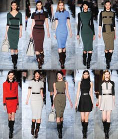 Feeling all these Victoria Beckham looks