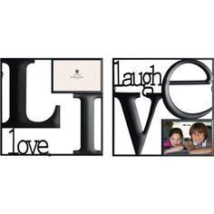 Burnes Live Love Laugh Wire Wall Collage Frame