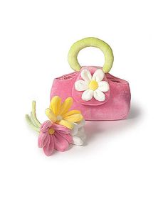 Take a look at this Pink Daisy Purse by Heart to Heart on #zulily today!