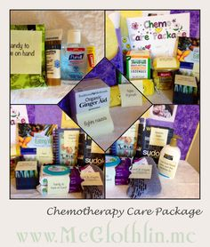 Chemo Care Package ideas.