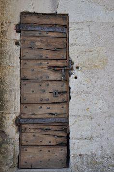 rustic door, France