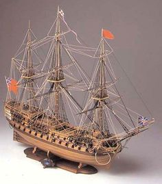 Corel HMS Bellona 74 Gun Ship 1:100 Scale Model Kit - available from Hobbies, the UK's favourite online hobby store! www.alwayshobbies.com