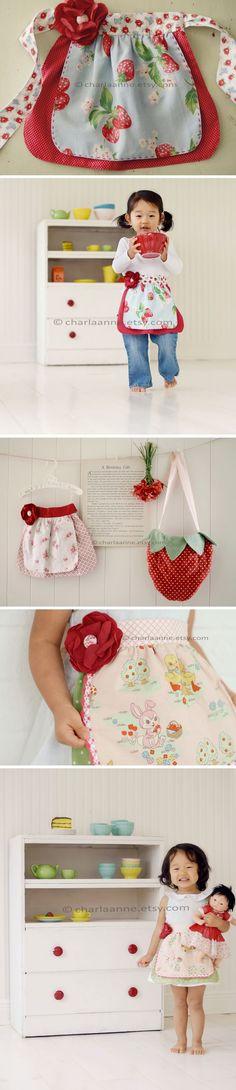 Cute child apron