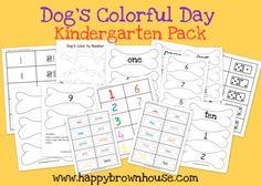 Dog's Colorful Day Kindergarten Pack