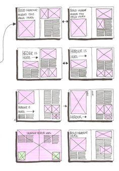 Diagramación para revistas, ejemplos, consultas, dinamismo gráfico entre otras disposición del espacio