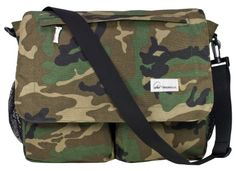 Amy Michelle Seattle Diaper Bag, Camo..