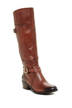 Gorgeous Leather Boot in Whiskey