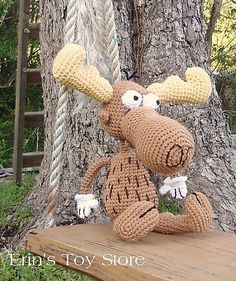 Bang Bang Moose ~ A Crochet Pattern by Erin Scull!  I have many of her patterns!  Big fan!