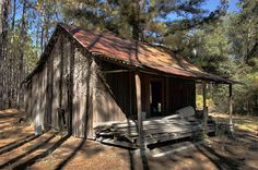 Appling County GA Turpentine Cabin Verncular Architecture Board and Batten Walls Picture Image Photo © Brian Brown Vanishing South Georgia U...