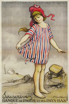 Old French poster