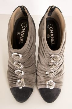 Chanel High Heel Boots. Lovely!