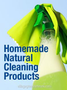 Ready to ditch the toxic home cleaners you use around your family and pets?  Here are 4 natural non toxic cleaners you can make yourself.