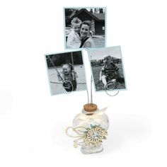 Glass jar photo holder. fun gift idea for friends, sister, daughter, Mother's Day, grandma...
