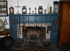 Early fireplace