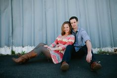 love this engagement series!