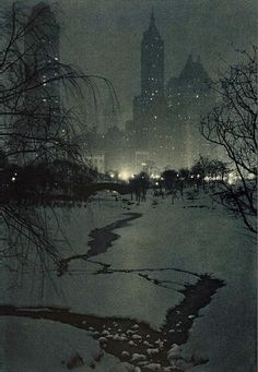 The White Night by Adolf Fassbender, 1932