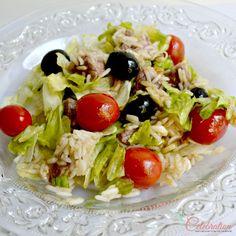Basmati & Sirloin Salad with Cumin Balsamic Vinaigrette - delicious for lunch or dinner! At littlemisscelebration.com  @Cindy Eikenberg (littlemisscelebration)