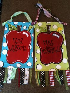 Cool teacher gift (small painted canvas)