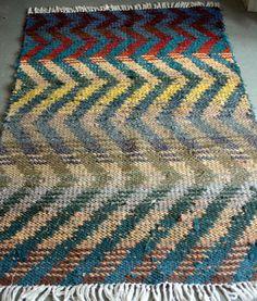 rag rug pattern.