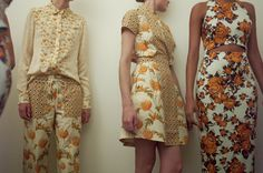 Suno backstage women fashion, summer fashion, pattern, cloth, color, suno ss, girl style, flowers, print