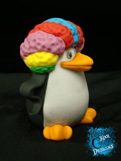 Penguin Cake Topper From Madagascar by KrazyKoolCakeDesigns