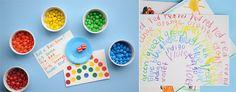 Great Rainbow educational ideas.