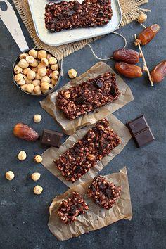 Double Chocolate Fudge Energy Bars {vegan & gluten free  www.PersonalTrainerBradenton.com